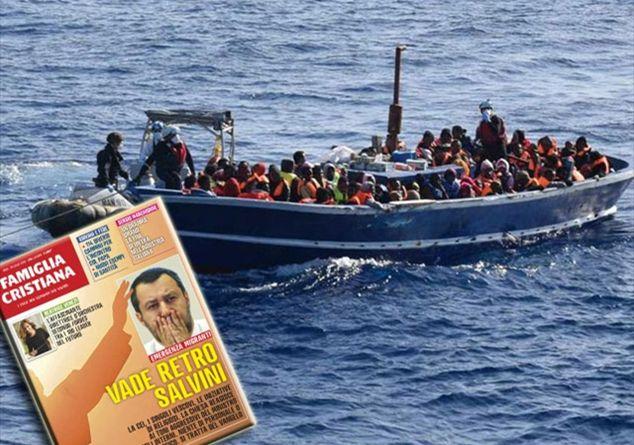 """""""Va de retro Satanás"""" le dice un magazine católico italiano al ministro Salvini"""