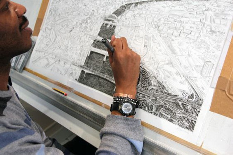 ¿Quién es el dibujante más extraordinario del mundo? es el autista Stephen Wiltshire