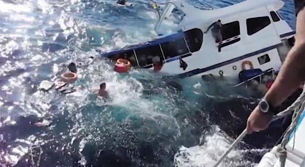 Capitanes de barcos tailandeses naufragados serán imputados
