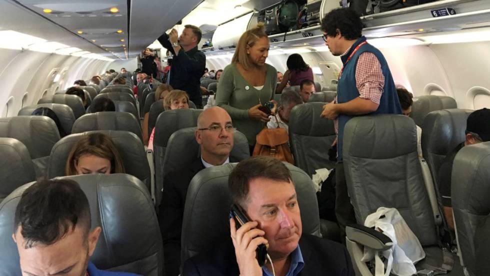 Estados Unidos espía a sus ciudadanos en los vuelos comerciales