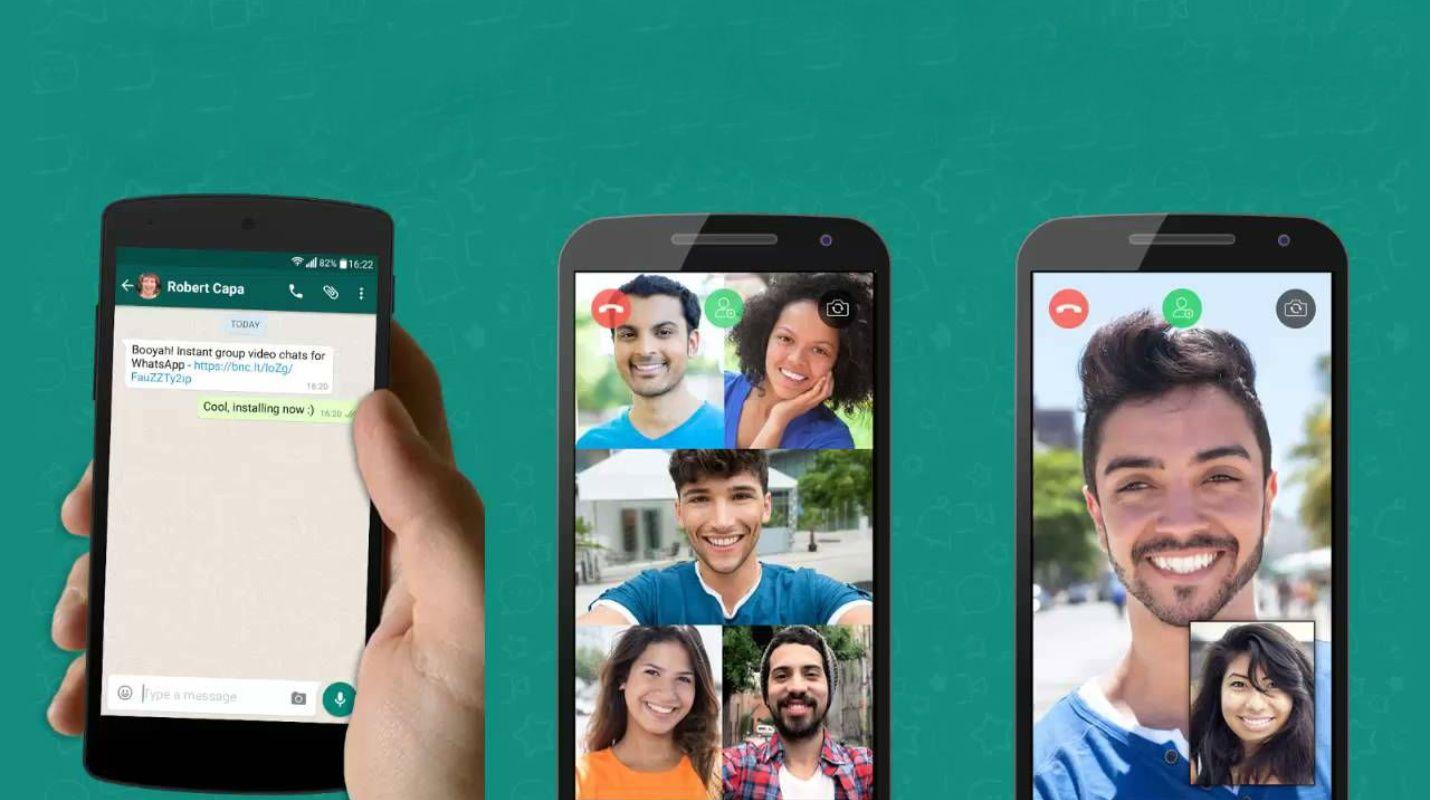 Nueva versión de Whatsapp permite hacer llamada grupales