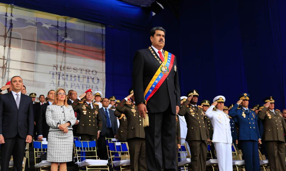 Gobernadores de estados de Venezuela condenaron atentado contra presidente Maduro