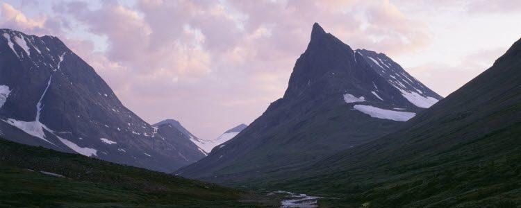 Calentamiento global destruye el monte mas alto de suecia