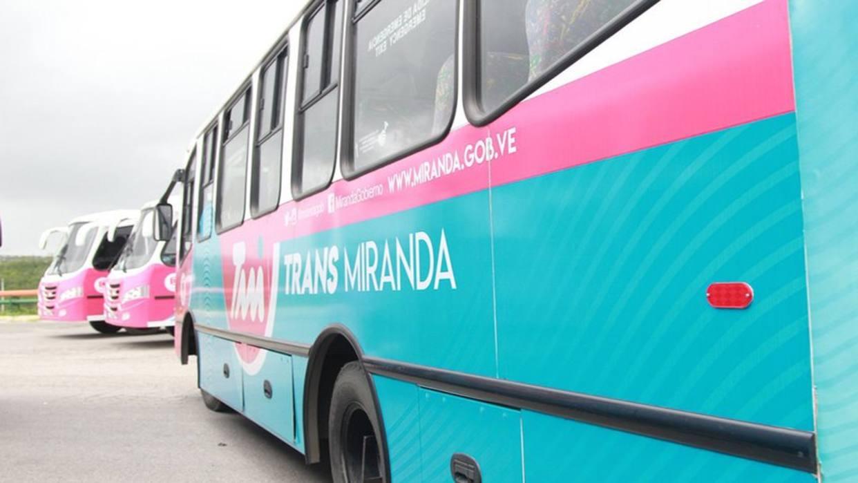 28 unidades de transporte se sumarán al Transmiranda de los Valles del Tuy