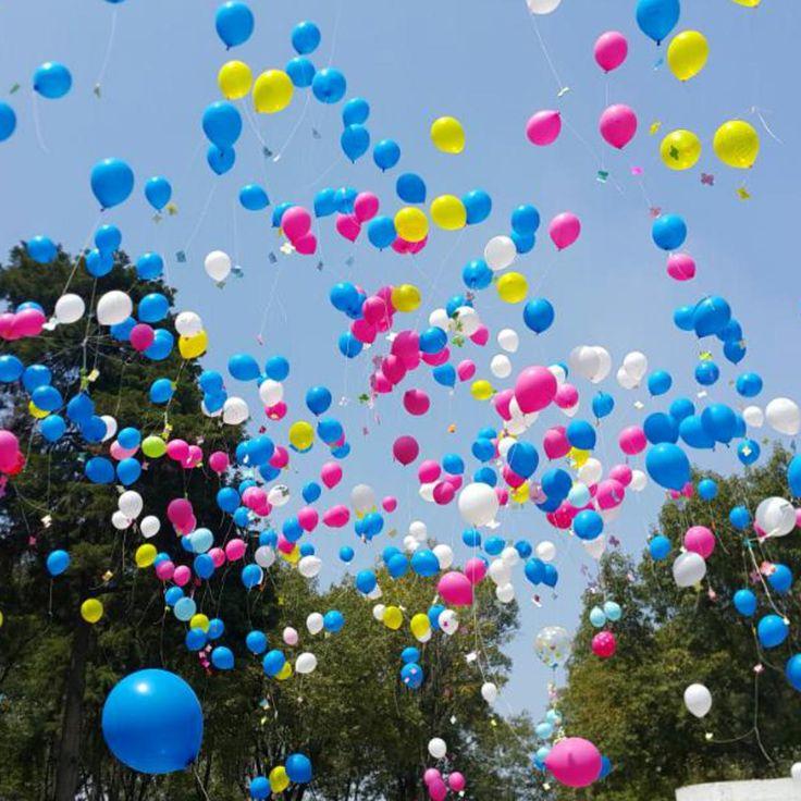 Proponen prohibir lanzar globos con helio al aire libre en Buenos Aires