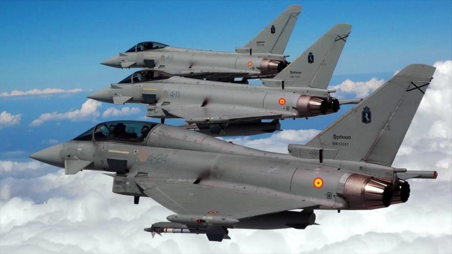 "Dijeron que fue por ""error"": Avión de guerra español dispara misil guiado cerca de Rusia"