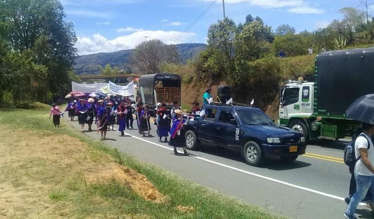 Persiste el conflicto entre indígenas Nasa y Misak en el Cauca