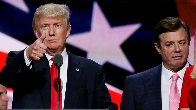 Exjefe de campaña de Trump, culpable de fraude fiscal y bancario