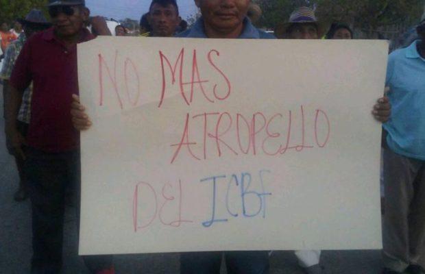 Colombia: Indígenas Wayúu son amenazados tras protestar contra Instituto de bienestar familiar