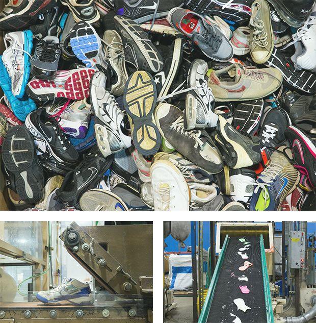 Zapatillas deportivas podrán reciclarse para convertirse en combustible