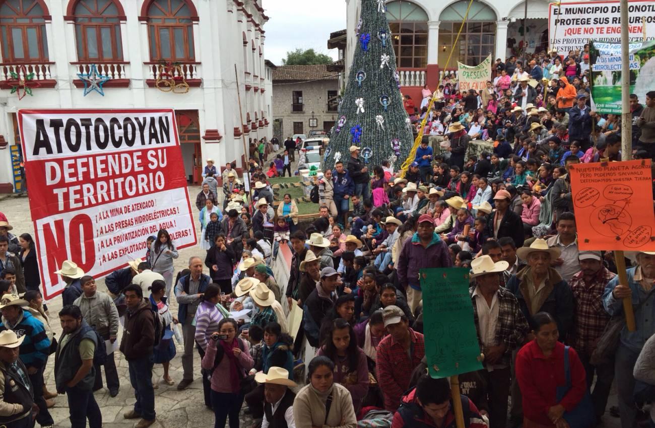 Proyectos de «fracking» significan la muerte de comunidades indígenas de Puebla