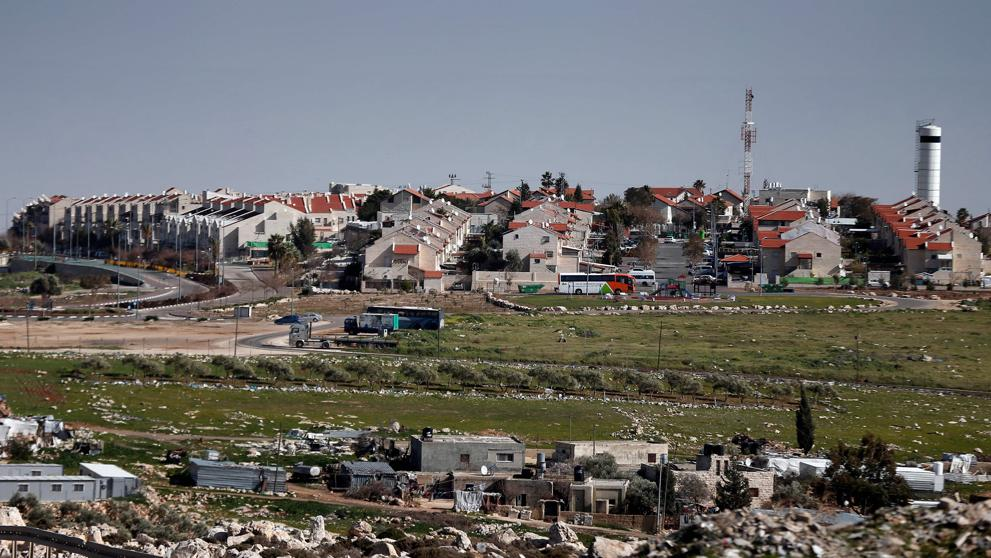 Los colonos judíos se apropian de tierras de cultivo palestinas al norte de Cisjordania