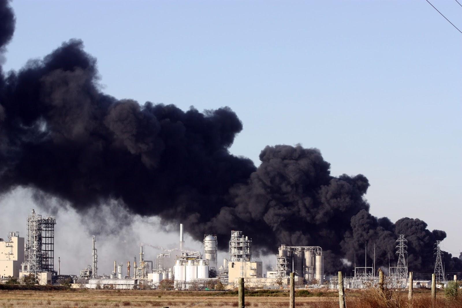 Contaminación con carbón