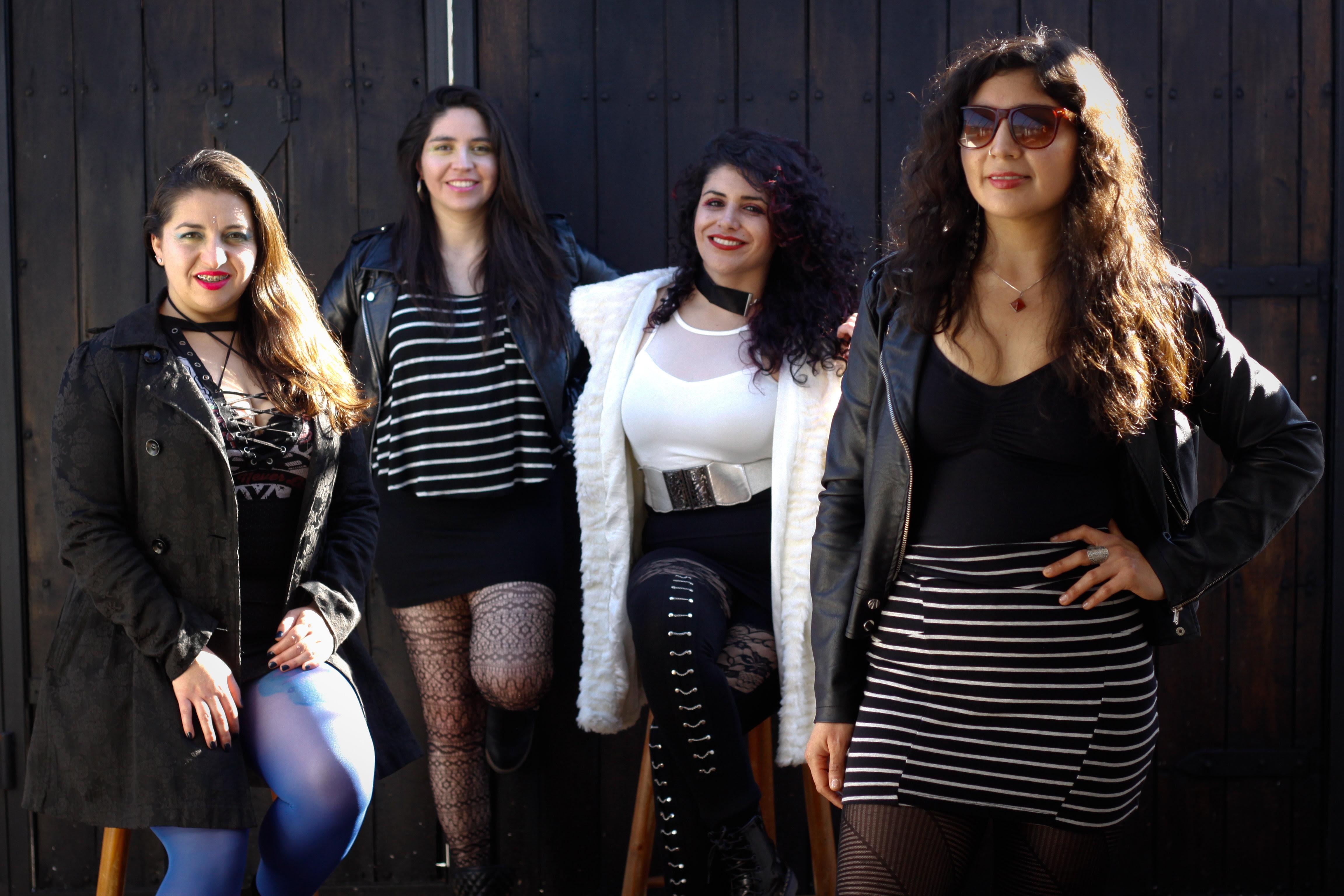 Rock de mujeres: Banda «Aurora Voraz» presenta su primer disco
