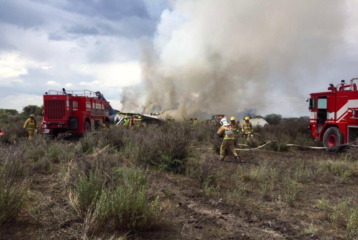 Avión siniestrado en México tuvo un percance en trayectoria inicial de despegue
