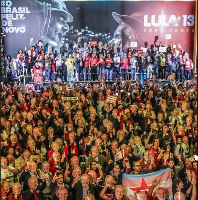 Lula da Silva presentó su candidatura presidencial desde la cárcel (+vídeo)