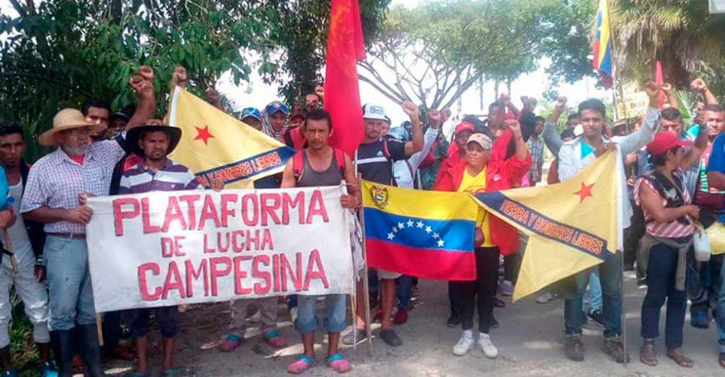 Marcha Campesina Admirable: Casos de sicariato, retardo en la entrega y tipos de insumos son algunas propuestas al Presidente venezolano