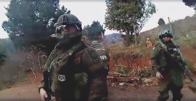 Violentos allanamientos del Comando Jungla en Rankilko llegan a la Corte de Apelaciones