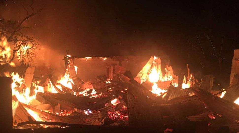 10 mujeres muertas por incendio en hogar de ancianos de Chiguayante