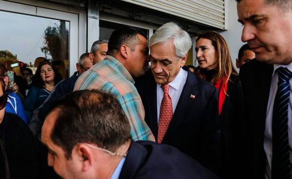 Vecinos a Piñera:  «Nacimos en Quintero, no somos violentistas»