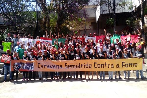 Caravana contra el Hambre llegó este miércoles a Curitiba