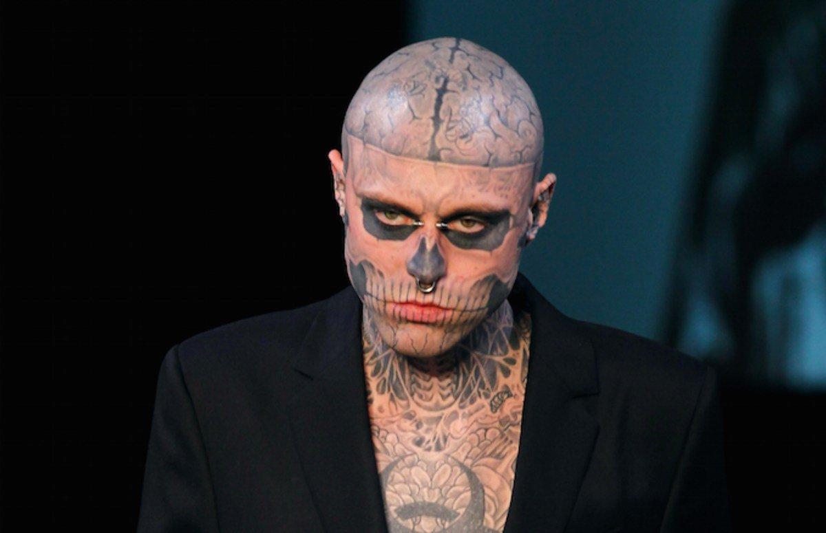 Hallan sin vida al modelo de tatuajes Zombie Boy