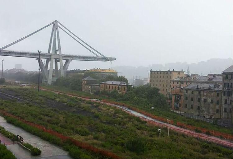 (Videos, fotos) Tragedia: Decenas de muertos tras desplomarse un viaducto de una autopista de Italia