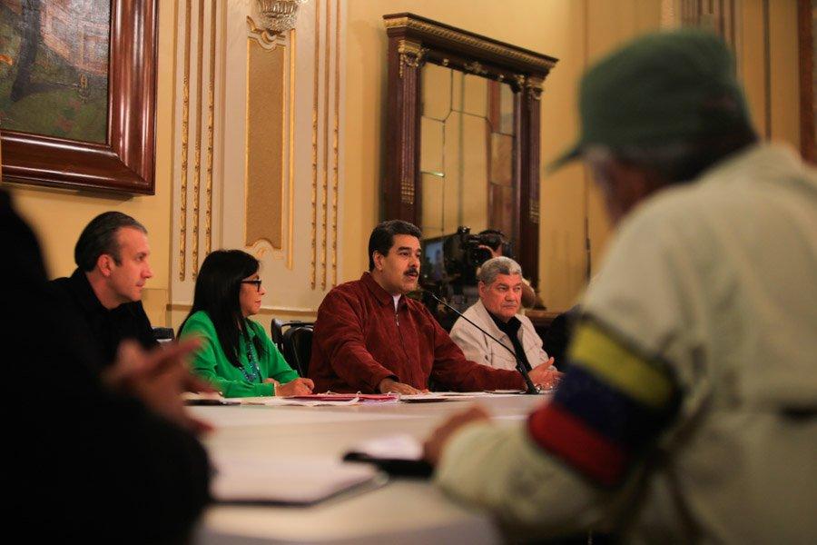 Nueve líneas para la recuperación económica en Venezuela promulgó Maduro