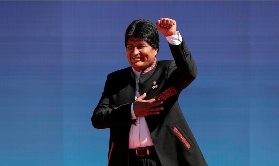 Evo Morales es el presidente más admirado de la historia moderna de Bolivia según encuesta