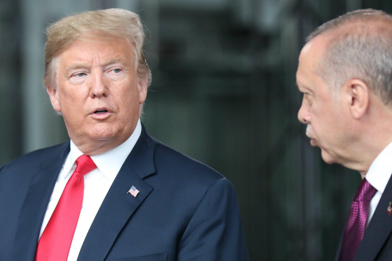 Presidentes de EE.UU Y Turquía
