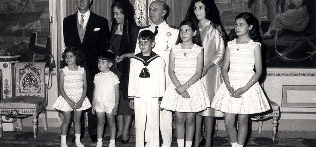 Franco y familia