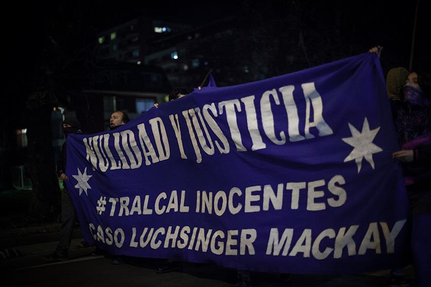 Caso Luchsinger Mackay: Familia Tralcal espera nulidad en la Corte Suprema e insiste que se trata de una condena política