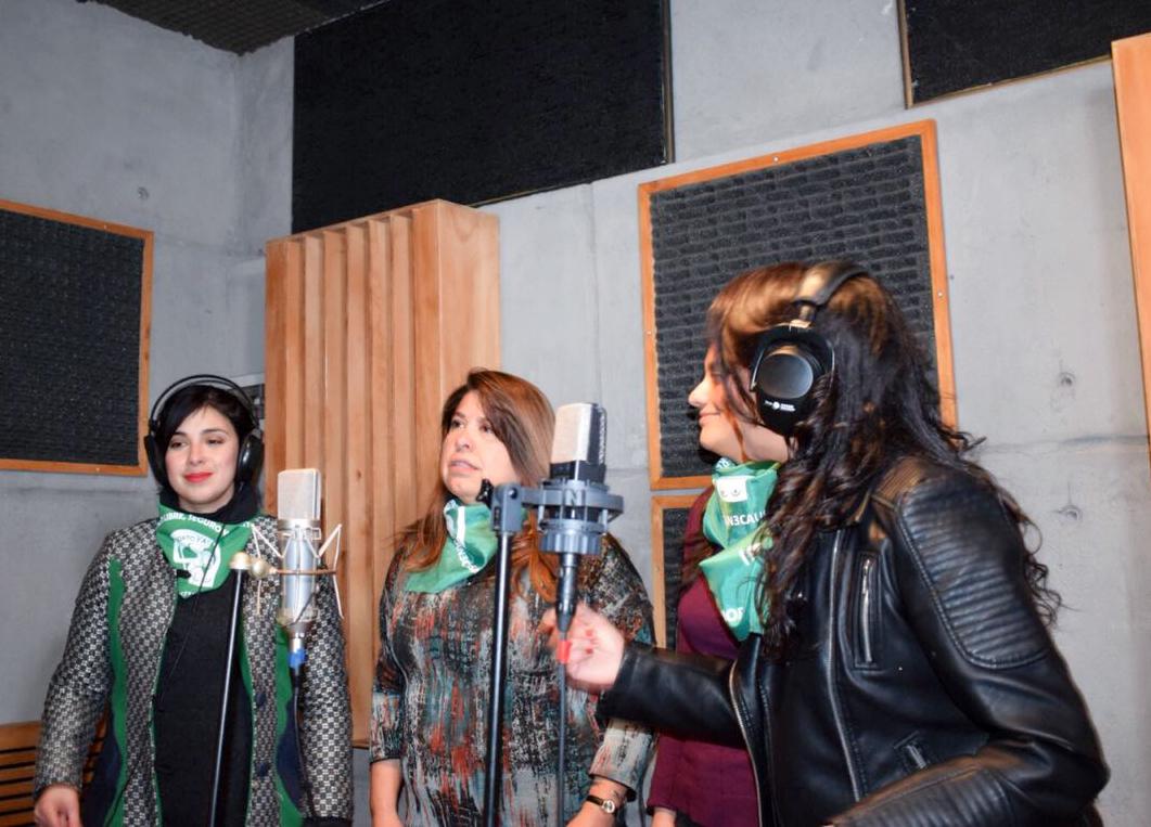"""(VIDEOS) """"¡Vamos ya!"""", el himno por el aborto legal que graban diputadas y artistas"""