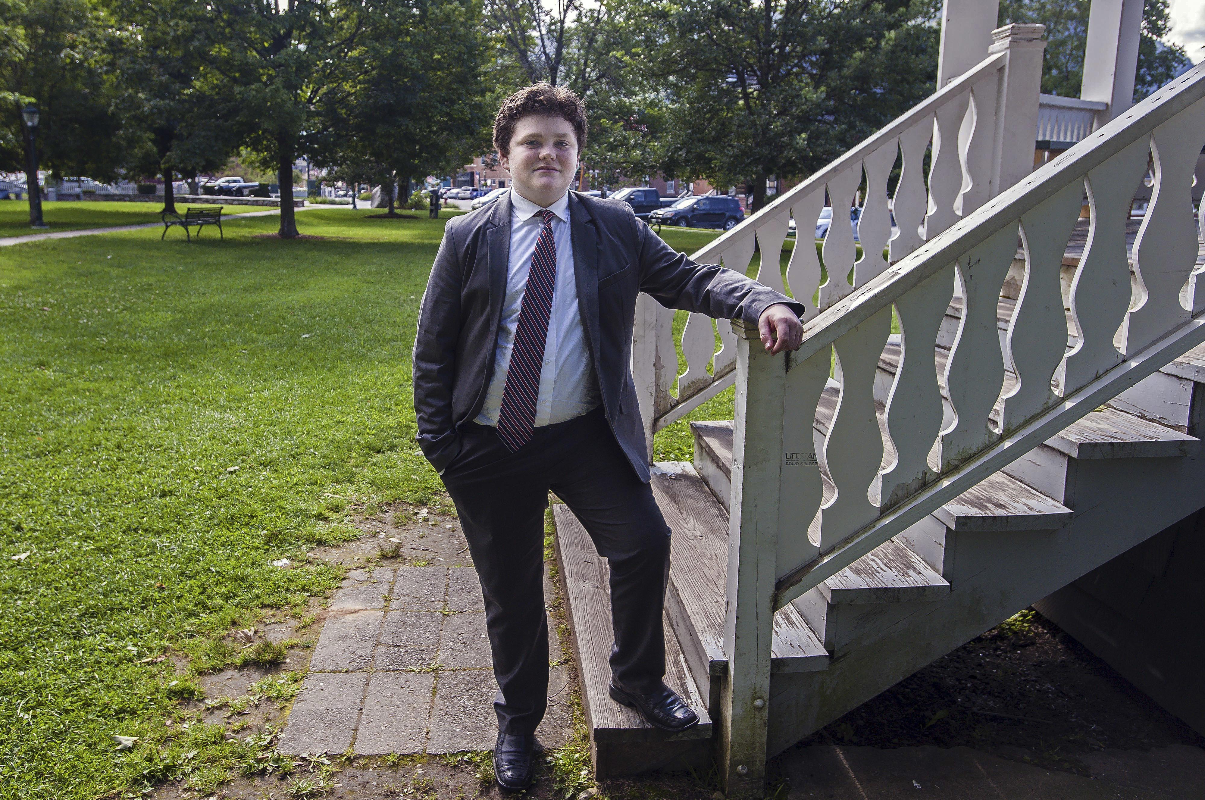 ¡Increíble! Joven de 14 años se postula para gobernador en Estados Unidos