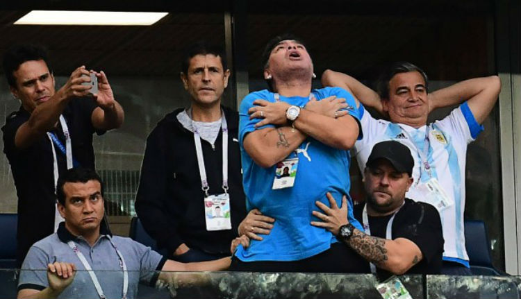 Identifican al responsable de los audios que daban por muerto a Maradona