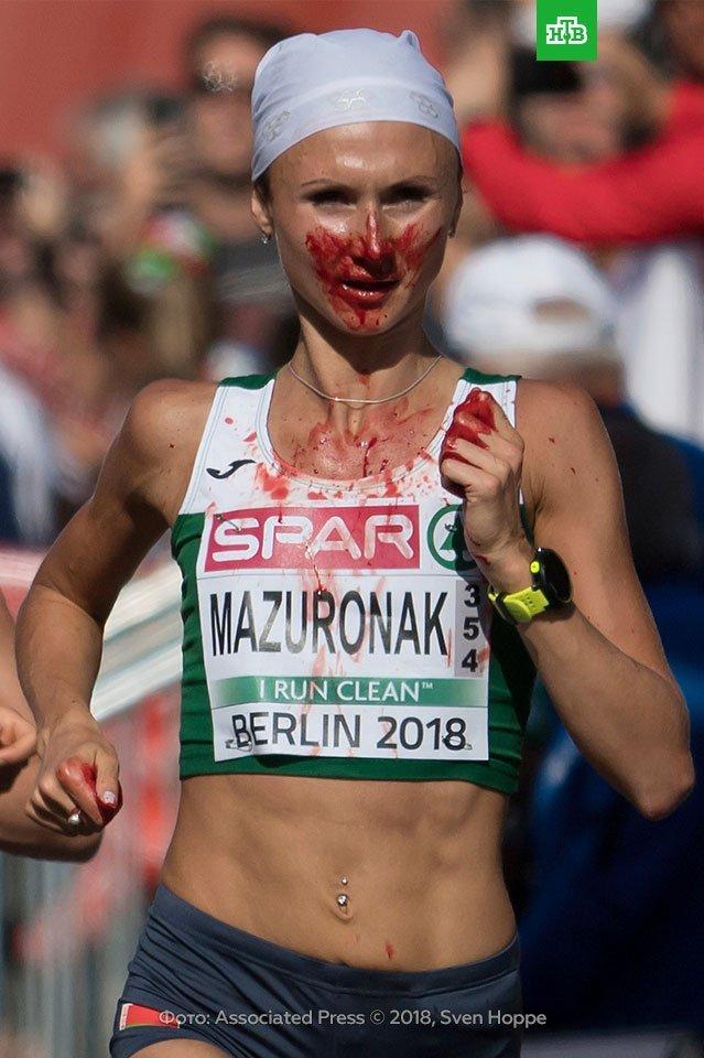 (Video) Esfuerzo extremo: Pese a hemorragia nasal maratonista gana el Campeonato de Europa