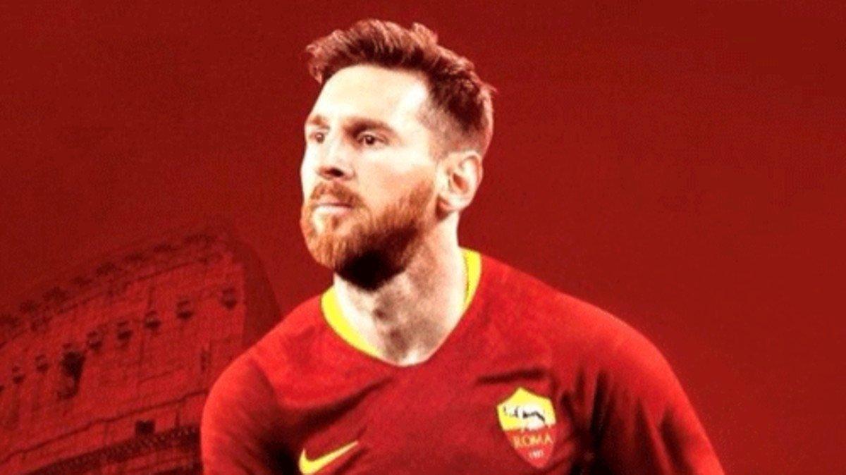 Fake News: Roma fichó a Lionel Messi para esta temporada