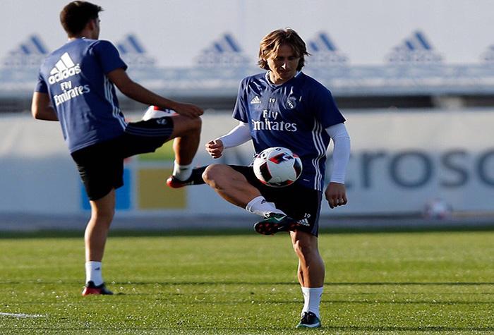 Luka Modric tomó la decisión de seguir en el Real Madrid