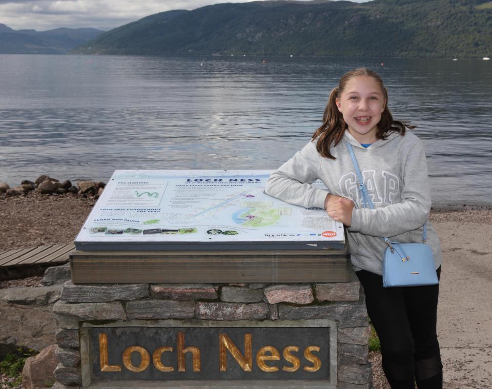 Una adolescente tomó la mejor foto en 50 años de la criatura del lago Ness
