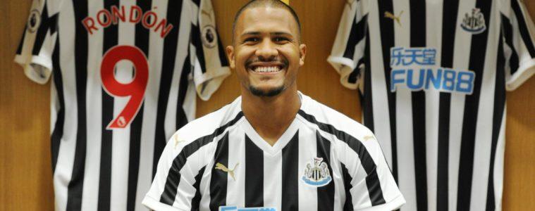 Salomón Rondón pasa al Newcastle