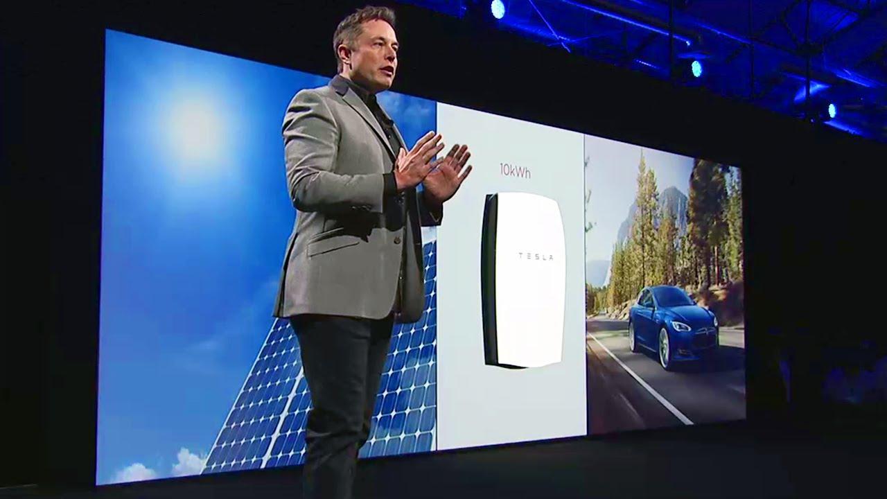 Súper batería Tesla permitirá poner fin a la dependencia de los combustibles fósiles