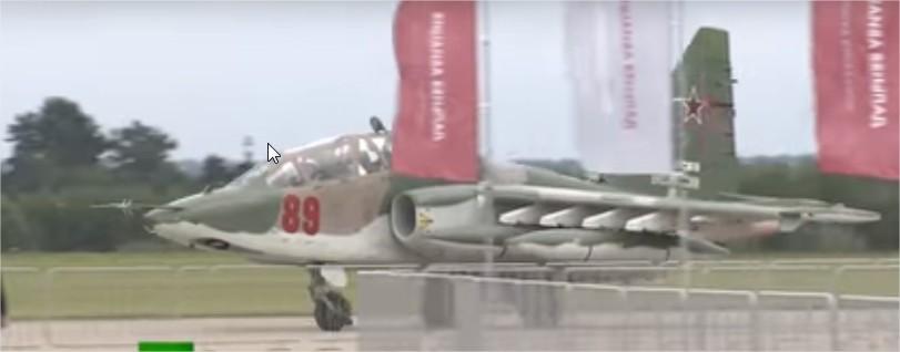 (Video) Magistral exhibición de aviones rusos al inicio del Army 2018