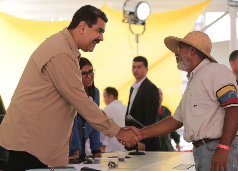 Maduro convoca a un Congreso unitario de campesinos, pescadores y obreros