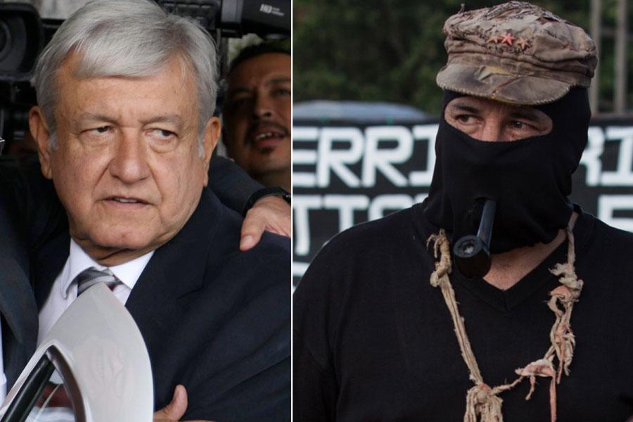 Cúpula del Ejército Zapatista se opone a los proyectos de AMLO