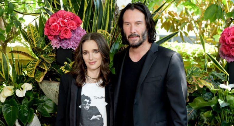 (Video) Keanu Reeves y Winona Ryder: ¿25 años casados en secreto?