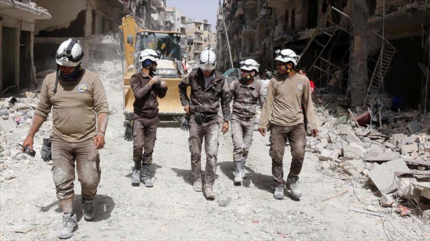 Los Cascos Blancos trasladaron sustancias tóxicas a grupos terroristas en Siria