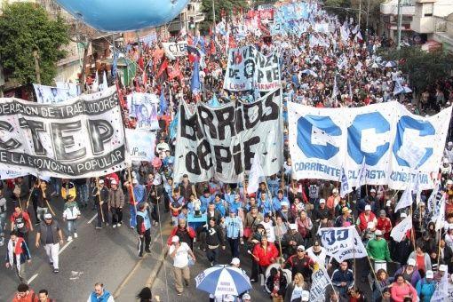 """Argentinos marcharán por """"pan y trabajo"""" para exigir aprobación de proyectos de ley"""