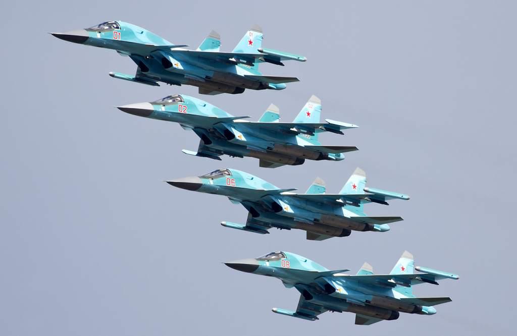 (VIDEO) Todo el poderío táctico y estratégico aéreo ruso en un 60 segundos
