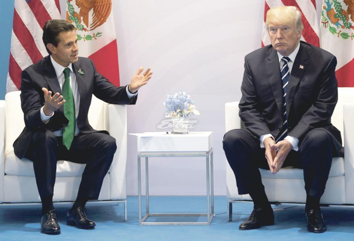 ¿Confunde y vencerás? Trump dice que prefiere a López Obrador antes que a Peña Nieto