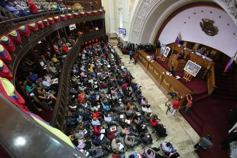 Proyecto de Acuerdo Constituyente aprobado por unanimidad parlamentaria en Venezuela